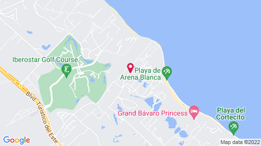 Ocean Blue & Sand Beach Resort - All Inclusive Map