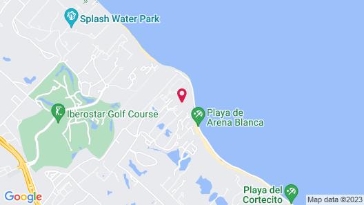 VIK hotel Arena Blanca Map