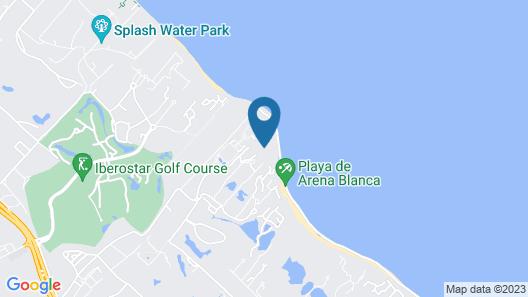 VIK hotel Arena Blanca - All Inclusive Map