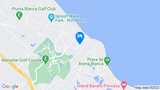 Iberostar Grand Bavaro Adults Only - All Inclusive Map