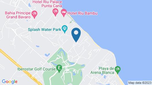 Iberostar Punta Cana All inclusive Map