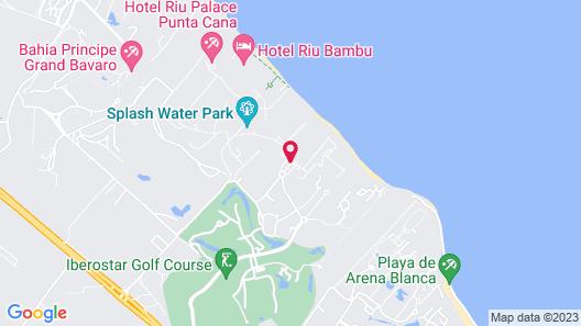 Iberostar Dominicana All Inclusive Map