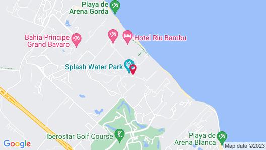 Riu Naiboa All Inclusive Map
