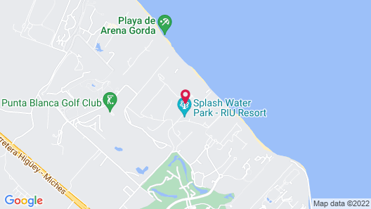Riu Palace Macao – Adults Only All Inclusive Map
