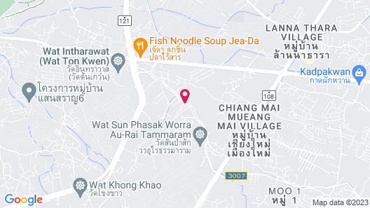 Content Villa Chiang Mai Map