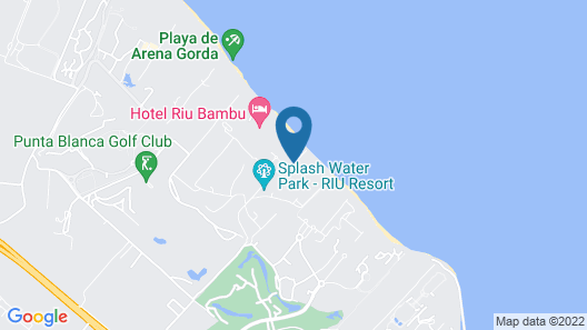 Riu Palace Bavaro All Inclusive Map