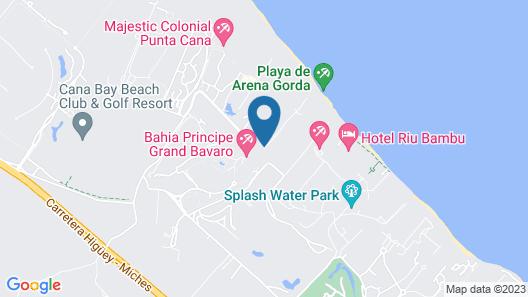 Bahia Principe Grand Bavaro - All Inclusive Map