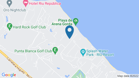 Bahia Principe Fantasia Punta Cana - All Inclusive Map