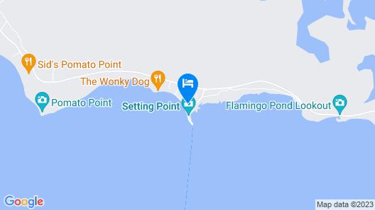 Anegada Reef Hotel Map