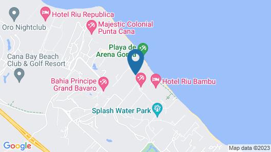 Bahia Principe Luxury Esmeralda - All Inclusive Map