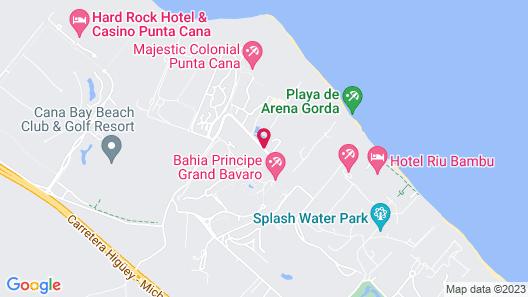 Royalton Bavaro Resort & Spa- All Inclusive Map