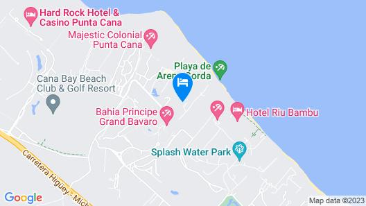 Bahia Principe Grand Punta Cana - All Inclusive Map
