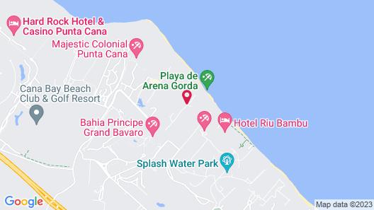 Bahia Principe Luxury Ambar - Adults Only - All Inclusive Map
