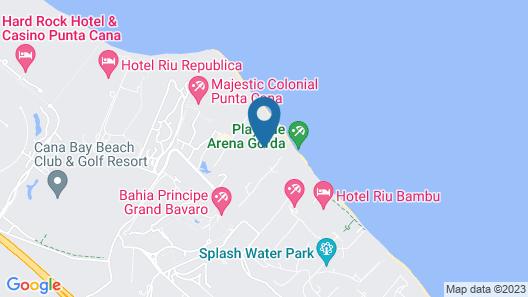 Bahia Principe Fantasia Punta Cana - All Inclusive Map