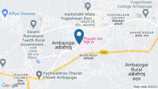 HOTEL PIYUSH INN Map