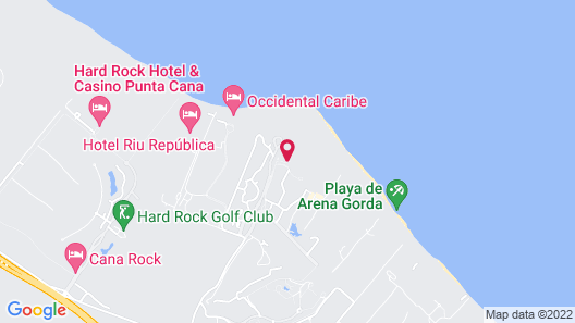 Majestic Colonial Punta Cana - All Inclusive Map