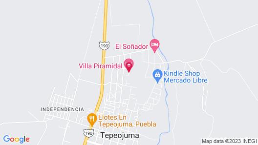 Villa Piramidal Map