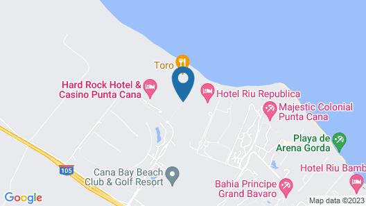 Riu Republica - Adults only - All Inclusive Map