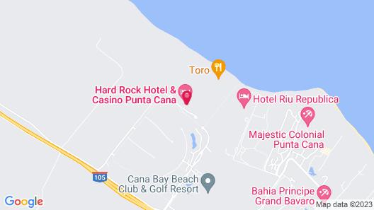 Hard Rock Hotel & Casino Punta Cana All Inclusive Map