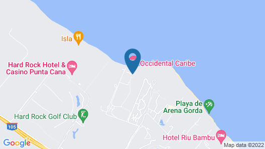 Occidental Caribe - All Inclusive Map
