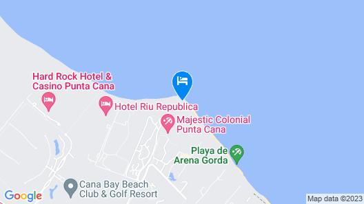Majestic Elegance Punta Cana - All Inclusive Map