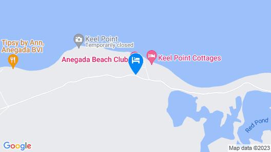 Anegada Beach Club Map