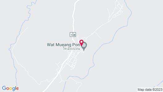 Ban Muang Pon Home Stay Map