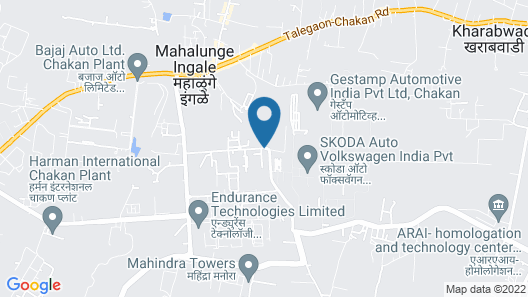 Hotel New Leaf Achillea Chakan Map