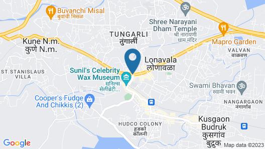 Kumar Resort Lonavala Map