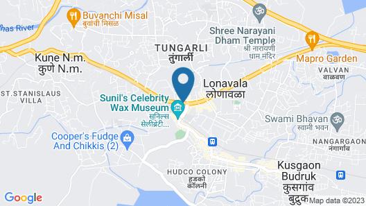 Meritas Picaddle Resort - Lonavala Map