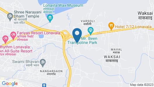 Meritas Adore Resort Lonavala Map