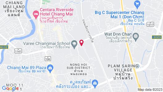 B2 Mahidol Boutique & Budget Hotel Map