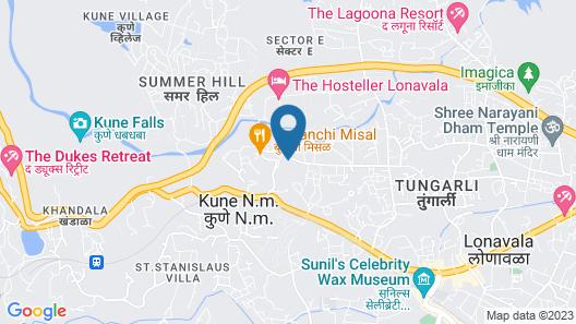 Fariyas Resort Lonavala Map