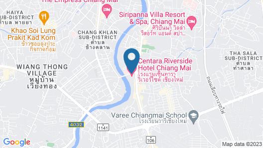 Holiday Inn Chiangmai, an IHG Hotel Map