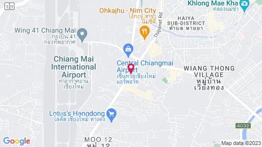 Wellness Residence Chiang Mai Map