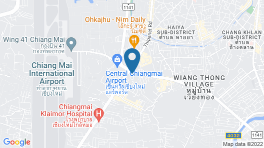 Locals Prio ChiangMai Central Airport Plaza Map
