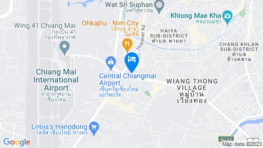 WE Terminal Hotel Map