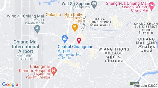 Baan U Sabai Boutique House Map