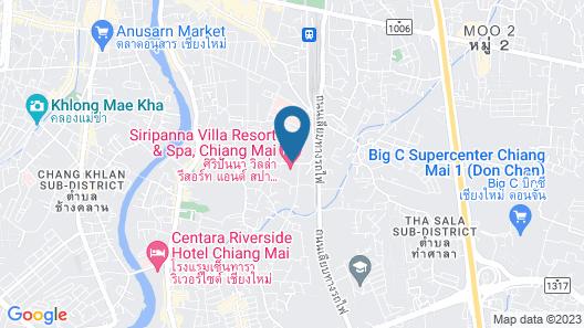 Siripanna Villa Resort & Spa Chiang Mai Map