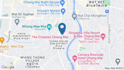 The Empress Hotel Chiang Mai Map