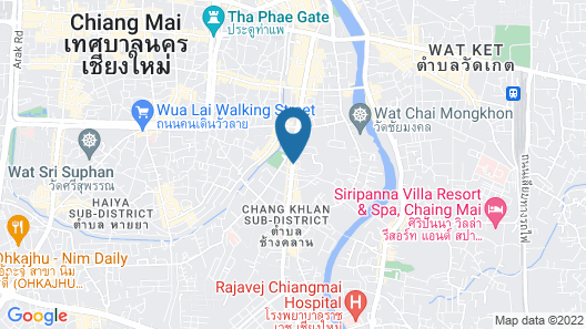 Shangri-La Hotel Chiang Mai Map