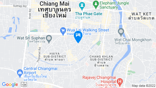Thannatee Boutique Hotel Map