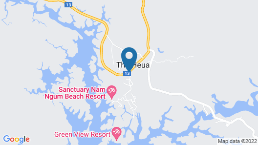 Sanctuary Nam Ngum Beach Resort Map