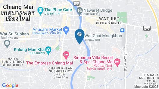 Ping Nakara Boutique Hotel & Spa Map