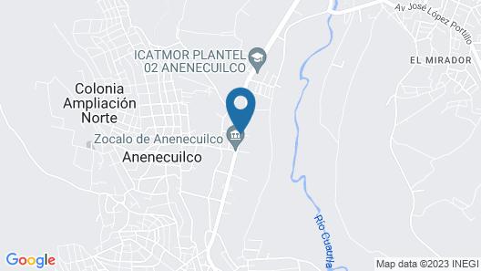 Quinta El Paraiso Map