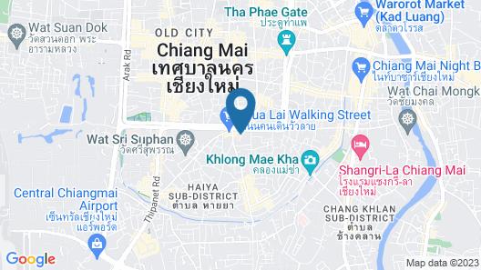 Goldenbell Hotel Chiangmai Map