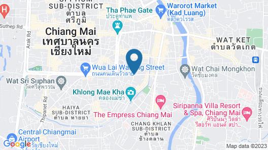 Maninarakorn Hotel Map