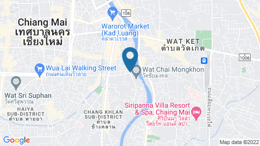 Anantara Chiang Mai Resort - SHA Certified Map