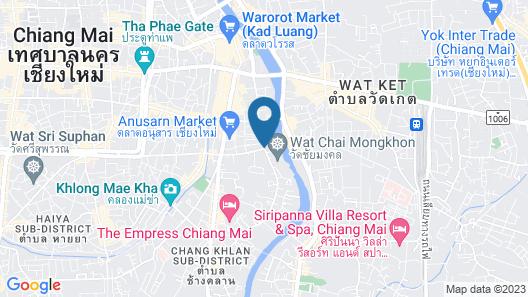 Anantara Chiang Mai Resort Map