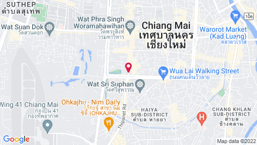 Pingviman Hotel Map